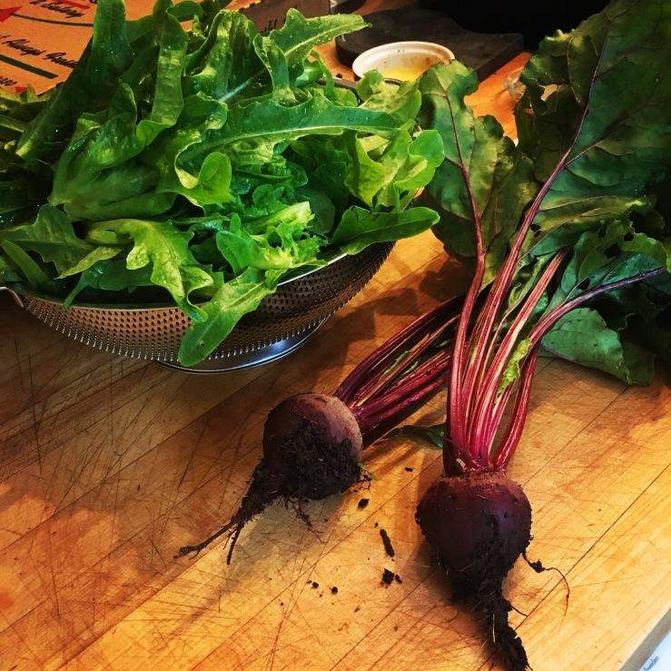 lettuce beets